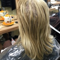 Our client wanted a beautiful icy blonde and we delivered
