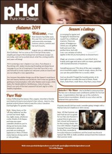 Autumn 2014 newsletter