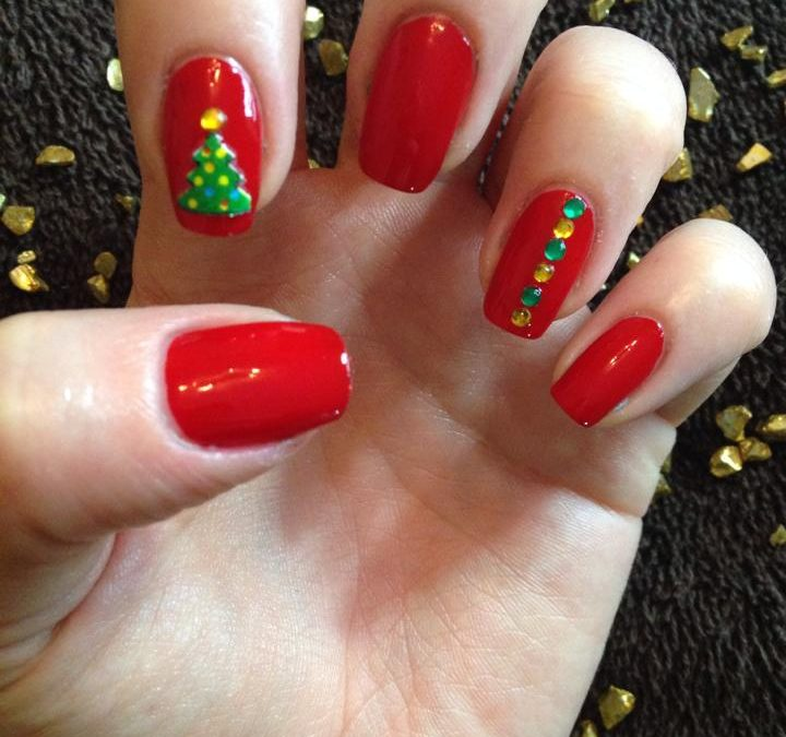 Christmas manicure offer at Pure hair & beauty