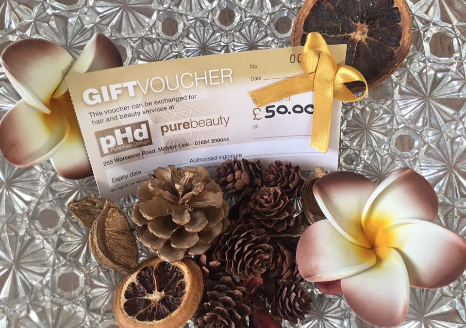 Our gift to you – We're topping up £40 vouchers to £50!